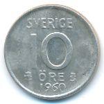Швеция, 10 эре (1960 г.)