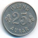 Исландия, 25 эйре (1967 г.)