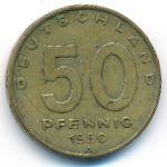 ГДР, 50 пфеннигов (1950 г.)