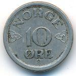 Норвегия, 10 эре (1957 г.)