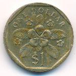 Сингапур, 1 доллар (1988 г.)