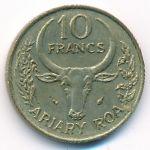 Мадагаскар, 10 франков (1980 г.)