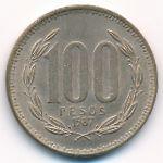 Чили, 100 песо (1987 г.)