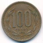 Чили, 100 песо (1992 г.)