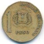 Доминиканская республика, 1 песо (2000 г.)