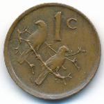 ЮАР, 1 цент (1989 г.)