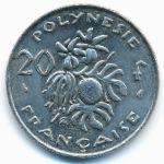 Французская Полинезия, 20 франков (1993 г.)