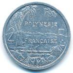 Французская Полинезия, 2 франка (1983 г.)
