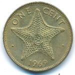 Багамские острова, 1 цент (1969 г.)