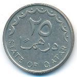 Катар, 25 дирхамов (1987 г.)