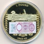 Жетоны, 1 фунт (2014 г.)