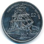Южная Джорджия и Южные Сэндвичевы острова, 2 фунта (2009 г.)