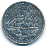 Бермудские острова, 1 доллар (2000 г.)