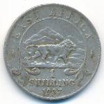 Восточная Африка, 1 шиллинг (1937 г.)
