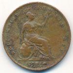 Великобритания, 1 пенни (1848 г.)