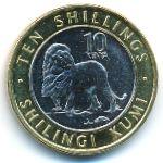 Кения, 10 шиллингов (2018 г.)