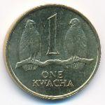 Замбия, 1 квача (1992 г.)
