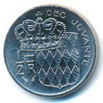 Монако, 1/2 франка (1977 г.)
