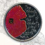 Олдерни, 5 фунтов (2012 г.)