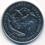 Британская Антарктика, 2 фунта (2009 г.)