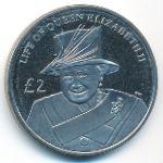 Южная Джорджия и Южные Сэндвичевы острова, 2 фунта (2012 г.)