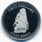 Острова Питкэрн, 2 доллара (2010 г.)