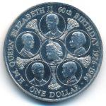 Острова Кука, 1 доллар (1986 г.)