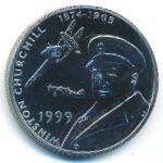 Тристан-да-Кунья, 50 пенсов (1999 г.)