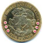 Тристан-да-Кунья, 5 фунтов (2009 г.)