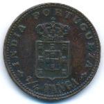 Португальская Индия, 1/4 танги (1903 г.)