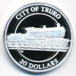 Теркс и Кайкос, 20 долларов (1996 г.)
