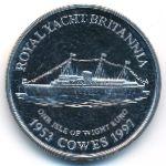 Остров Уайт, 1 евро (1997 г.)