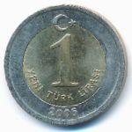 Турция, 1 новая лира (2005 г.)