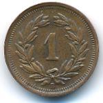 Швейцария, 1 раппен (1941 г.)