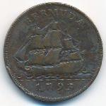 Бермудские острова, 1 пенни (1793 г.)
