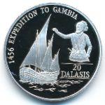 Гамбия, 20 даласи (1993 г.)