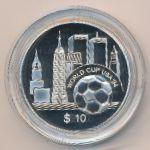 Восточные Карибы, 10 долларов (1994 г.)