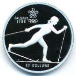 Канада, 20 долларов (1986 г.)