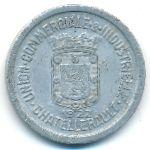 Шательро., 10 сентим (1922 г.)