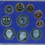 ФРГ, Набор монет (2001 г.)