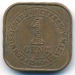 Малайя, 1 цент (1940 г.)