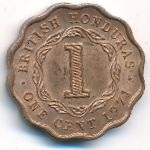 Британский Гондурас, 1 цент (1971 г.)