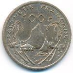 Французская Полинезия, 100 франков (1986 г.)