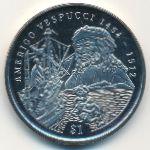 Сьерра-Леоне, 1 доллар (1999 г.)
