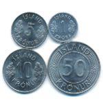Исландия, Набор монет (1978 г.)