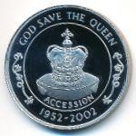 Остров Святой Елены, 50 пенсов (2002 г.)