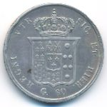 Неаполь и Сицилия, 60 гран (1857 г.)