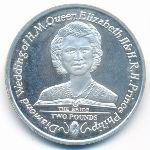 Южная Джорджия и Южные Сэндвичевы острова, 2 фунта (2007 г.)