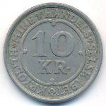 Гренландия, 10 крон (1922 г.)