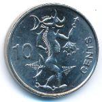Соломоновы острова, 10 центов (2012 г.)